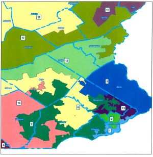 SEPA-Districts